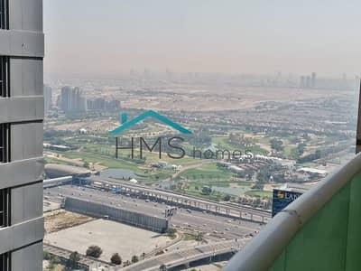 3 Bedroom Flat for Rent in Dubai Marina, Dubai - 3BR Pinnacle Tower High Floor Partial Sea Views