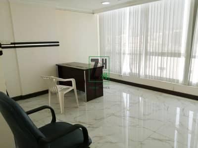مکتب  للايجار في شارع الفلاح، أبوظبي - Semi Furnished Office type Commercial   Al Falah street
