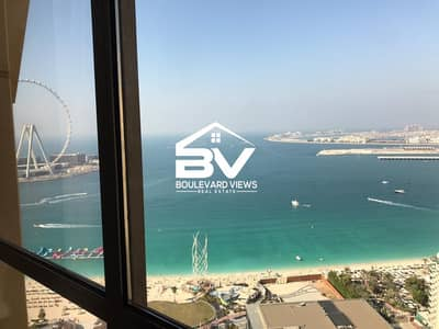 3 Bedroom Apartment for Sale in Jumeirah Beach Residence (JBR), Dubai - Full Sea View | Spacious Apartment | High Floor