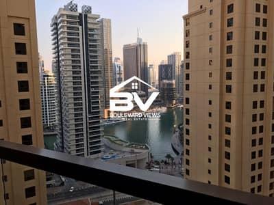 2 Bedroom Flat for Sale in Jumeirah Beach Residence (JBR), Dubai - Full Marina View | Spacious Size  | Mid Floor