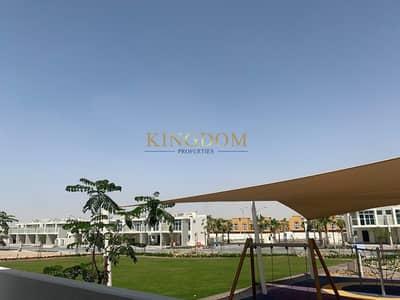 تاون هاوس 3 غرف نوم للايجار في أكويا أكسجين، دبي - Park Facing-Single Row-3Bedroom Brand new