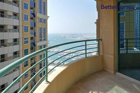 فلیٹ 3 غرف نوم للبيع في دبي مارينا، دبي - Vacant On Transfer| Higher Floor|Spacious