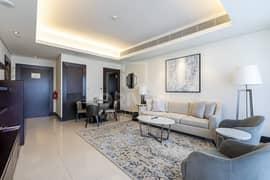شقة في فندق العنوان وسط المدينة وسط مدينة دبي 1 غرف 145000 درهم - 5046474