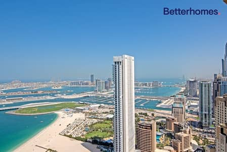 4 Bedroom Penthouse for Sale in Jumeirah Beach Residence (JBR), Dubai - Full Seaview | Upgraded | 3 Parking Slots | VOT