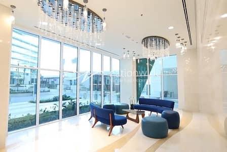 فلیٹ 3 غرف نوم للايجار في شاطئ الراحة، أبوظبي - Vacant | Modern Apartment With Full Sea View