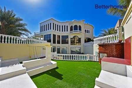 7 Bedroom Villa for Rent in Emirates Hills, Dubai - Unique Luxury Mansion | Lake View | July