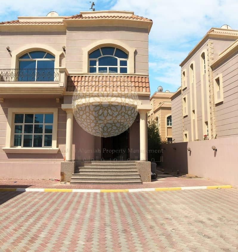 AMAZING 4 BEDROOM INDEPENDENT VILLA WITH MAID ROOM FOR RENT IN KHALIFA A