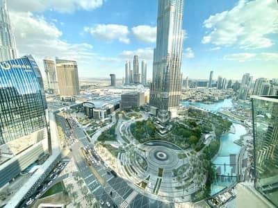 شقة 2 غرفة نوم للبيع في وسط مدينة دبي، دبي - Beautiful Burj Khalifa View 2 Bedrooms Furnished