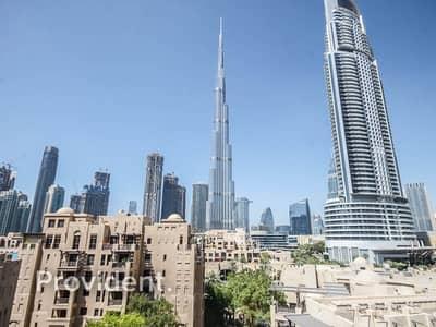 شقة 2 غرفة نوم للايجار في المدينة القديمة، دبي - Full Burj Kahlifa View   Tranquil   Spacious