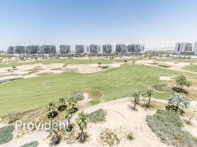 3 Bedroom Flat for Rent in DAMAC Hills (Akoya by DAMAC), Dubai - Corner Unit | 13 Months | Full Golf Course View