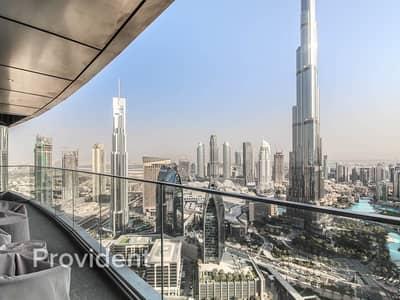 شقة 4 غرف نوم للايجار في وسط مدينة دبي، دبي - A Higher Quality of Living   Burj Khalifa View