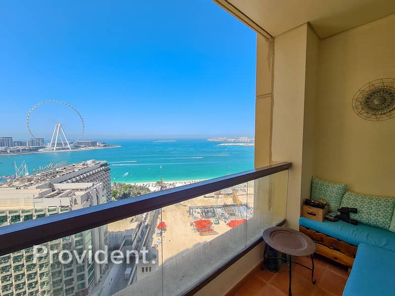 2 Breathtaking Full Sea View with Large Layout