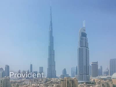 2 Bedroom Flat for Sale in Downtown Dubai, Dubai - Burj Khalifa View | Best Price | Fitted Kitchen