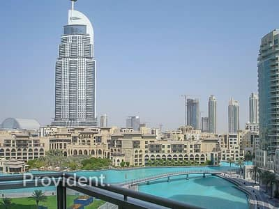 1 Bedroom Flat for Sale in Downtown Dubai, Dubai - Panoramic Fountain View with Large bedrooms