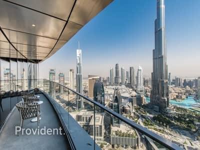 4 Bedroom Apartment for Sale in Downtown Dubai, Dubai - Stunning Full Burj Khalifa and Fountain Views