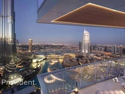 3 Bedroom Flat for Sale in Downtown Dubai, Dubai - High End | Full View of Fountain and Burj
