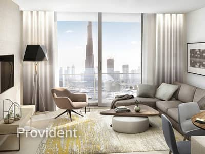 4 Bedroom Flat for Sale in Downtown Dubai, Dubai - Fountain/Burj Khalifa Views | Flexible Payment