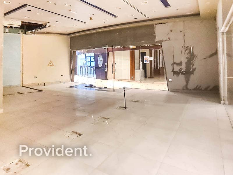2 Multiple Shop Space for Rent - JBR - Fitted