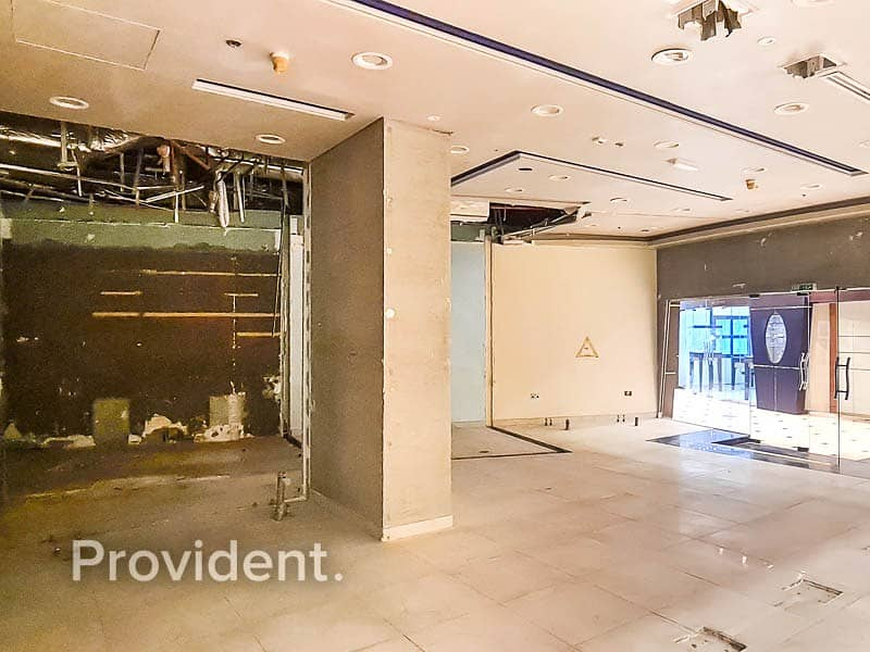 12 Multiple Shop Space for Rent - JBR - Fitted
