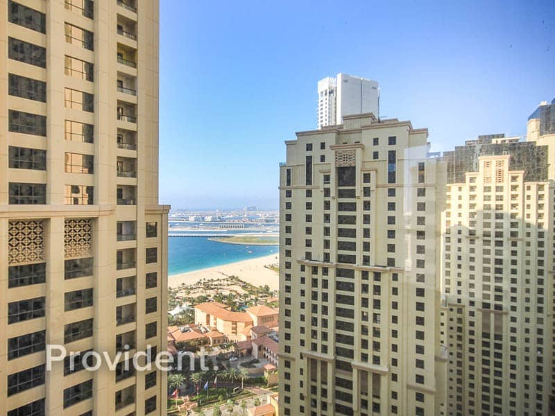 2 Partial Sea and Marina View | Spacious Balcony