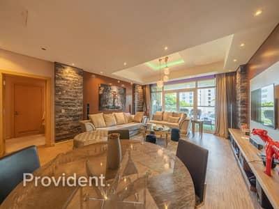 فلیٹ 1 غرفة نوم للبيع في نخلة جميرا، دبي - Upgraded & Large 1 Bed Direct Beach access