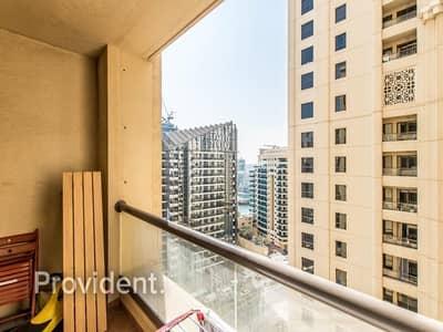 فلیٹ 3 غرف نوم للبيع في جميرا بيتش ريزيدنس، دبي - Mesmerizing Marina Views with High Floor