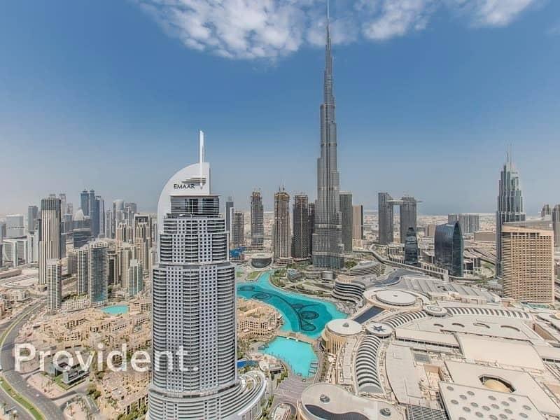 2 Sky Collection | High Floor | Full Burj View