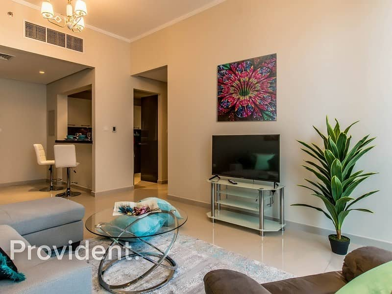2 Modern Style - Furnished 2 Bedroom - Marina View