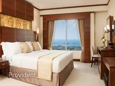 شقة 1 غرفة نوم للايجار في شارع الشيخ زايد، دبي - Furnished | All Bills and Housekeeping Included