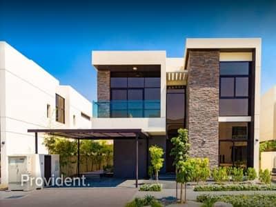 فیلا 5 غرف نوم للبيع في داماك هيلز (أكويا من داماك)، دبي - Luxurious Fendi Designed Villa | Community Views