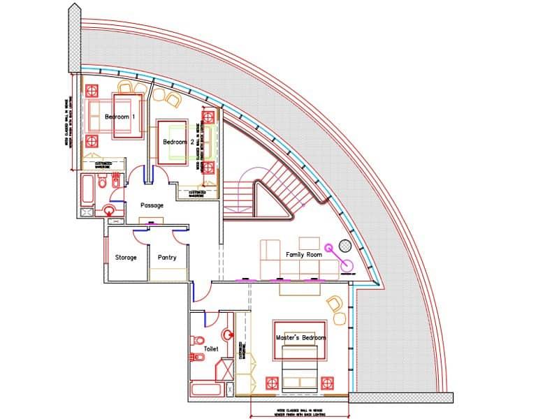 24 Penthouse Duplex | Heart of Marina | Open Views