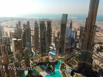 4 Bedroom Flat for Sale in Downtown Dubai, Dubai - Last 4BR Unit, On High Floor, Best Views