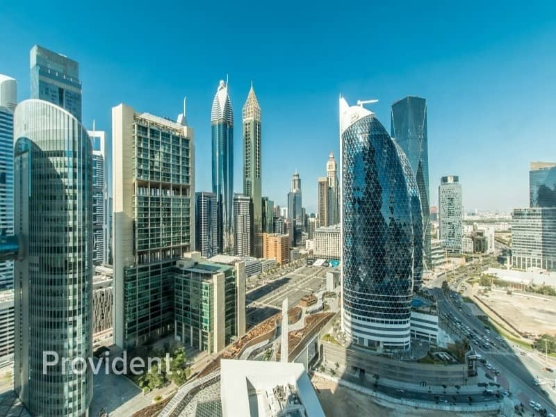 Fully Fitted Office For Lease In Index Tower