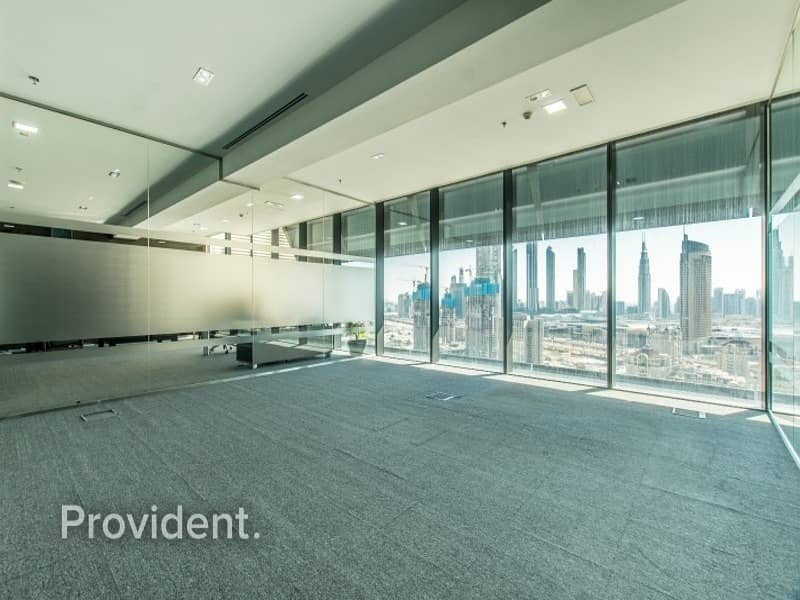 High Floor Huge Fitted Office For Lease In DIFC