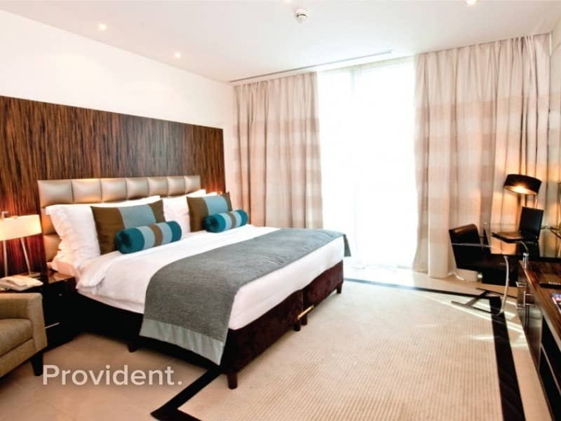 2 B/R Fully Furnished with Balcony | Vacant