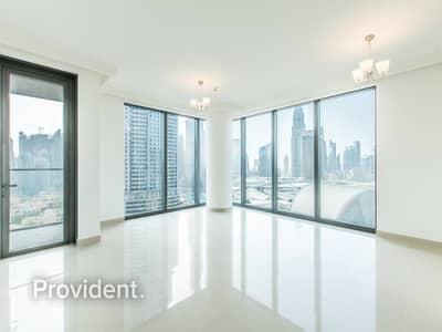 Burj Kh. View|Closed Kitchen | Corner unit |