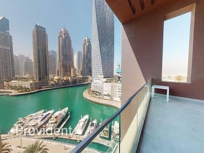 فیلا 2 غرفة نوم للايجار في دبي مارينا، دبي - Luxury 2BR Duplex Villa | Panoramic Marina View