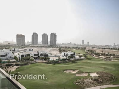 1 Bedroom Apartment for Rent in DAMAC Hills (Akoya by DAMAC), Dubai - Fully Furnished | Open Golf View | Vacant April