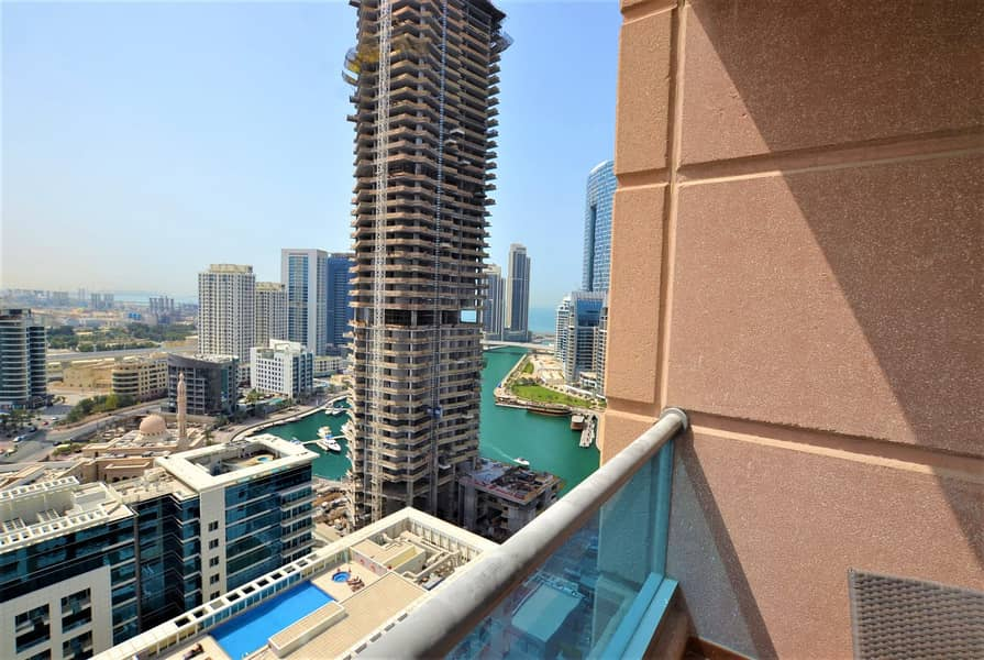 Fully Furnished | High Floor | Partial Marina