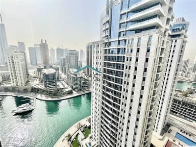 شقة 3 غرف نوم للبيع في دبي مارينا، دبي - Exclusive | Vacant | High Floor | Unique Size