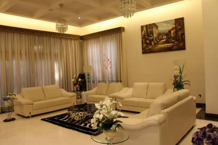 6 Bedroom Villa for Sale in Al Barari, Dubai - Well  Furnished 6BR
