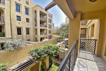 فلیٹ 2 غرفة نوم للايجار في المدينة القديمة، دبي - Vacant   Community View   Two Bedrooms