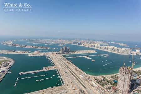بنتهاوس 4 غرف نوم للبيع في دبي مارينا، دبي - Upgraded Penthouse - Full Floor - Sea Views