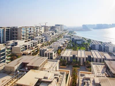 4 Bedroom Flat for Sale in Al Raha Beach, Abu Dhabi - Rented Property  Stunning Views   Beach Access.