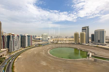Studio for Rent in Dubai Sports City, Dubai - Furnished | Full Canal View | High Floor