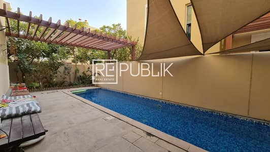 4 Bedroom Villa for Rent in Al Raha Gardens, Abu Dhabi - Remarkable 4 BR Villa with Private Pool and Garden