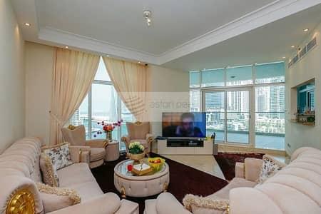 فلیٹ 3 غرف نوم للبيع في دبي مارينا، دبي - Vacant Now | Full Marina View  3BR+Maid | Must See