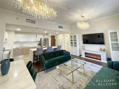 شقة 2 غرفة نوم للبيع في عقارات جميرا للجولف، دبي - Upgraded | 2 Beds | Immaculately Presented