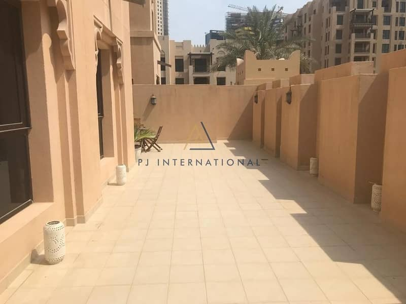 Exclusive 3BR+maid | Tenanted | Massive terrace