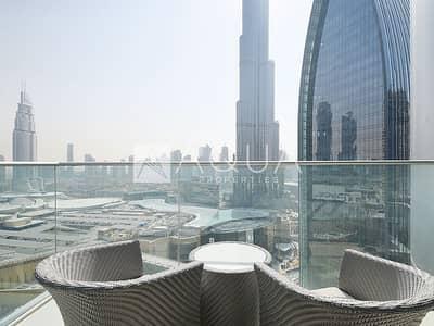 شقة 2 غرفة نوم للايجار في وسط مدينة دبي، دبي - Amazing view | Luxury 2 BR | Large Layout